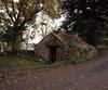 © Roger Choplain, Roland Maston, Région Auvergne - Inventaire général du Patrimoine culturel, ADAGP - Saint-Etienne-sur-Blesle, Brugely, vue générale du fournil du nord-est.