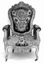 © Roger Choplain, Roland Maston, Région Auvergne - Inventaire général du Patrimoine culturel, ADAGP - Eglise paroissiale, siège : fauteuil.