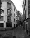 © Roger Choplain, Roland Maston, Région Auvergne - Inventaire général du Patrimoine culturel, ADAGP - Hôtel de Chazerat. Vue générale annexe de Chazerat. Angle rue de l'Oratoire