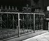© Roger Choplain, Roland Maston, Région Auvergne - Inventaire général du Patrimoine culturel, ADAGP - Maringues, prieuré de Bénédictins, Notre-Dame, clôture de la chapelle du sacré coeur.