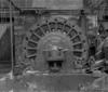 © Ph. Inv. P. Hervouet, Région Auvergne - Inventaire général du Patrimoine culturel, ADAGP - Pont-Salomon, papeterie, usine Taillanderie. Roue à cames.