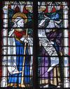 © Isabelle Védrine, Roland Maston, Région Auvergne - Inventaire général du Patrimoine culturel, ADAGP - Sainte-Chapelle, vitrail