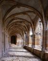 © Jean-Michel Périn, Roland Maston, Région Auvergne - Inventaire général du Patrimoine culturel, ADAGP - Galerie ouest du cloître gothique milieu du XVe.