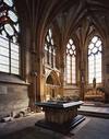 """© Jean-Michel Périn, Roland Maston, Région Auvergne - Inventaire général du Patrimoine culturel, ADAGP - La """"Chapelle neuve""""."""