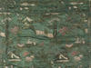© Christian Parisey, Région Auvergne - Inventaire général du Patrimoine culturel, ADAGP, 2015 - Saint-Amand-Roche-Savine : tissu aux chinoiseries